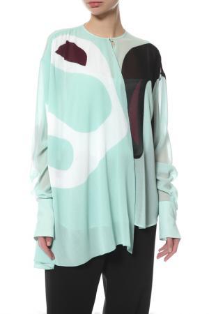 Блуза Issa. Цвет: зеленый