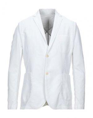 Пиджак ORIGINAL VINTAGE STYLE. Цвет: белый