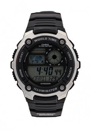 Часы Casio Collection AE-2100W-1A. Цвет: черный