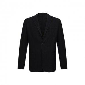 Шерстяной пиджак Altea. Цвет: синий