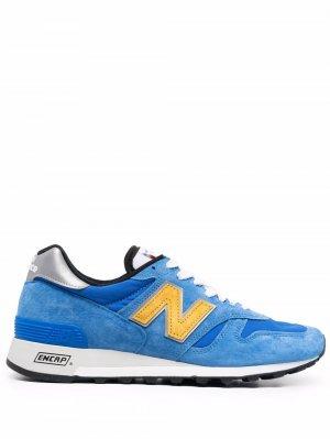 Made in US 1300 low-top sneakers New Balance. Цвет: синий