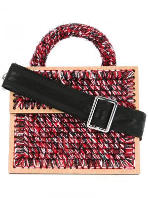 Плетеная сумка плечо Mr. Carradine Copacabana 0711. Цвет: разноцветный