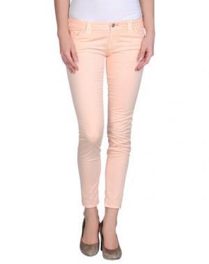 Повседневные брюки JCOLOR. Цвет: лососево-розовый