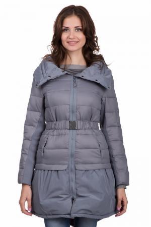 Пальто Locust. Цвет: серый