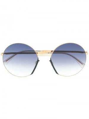 Солнцезащитные очки Jette Mykita. Цвет: черный