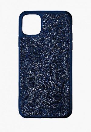Чехол для iPhone Swarovski® 11 Pro Max Glam Rock. Цвет: синий