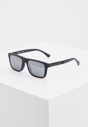 Очки солнцезащитные Emporio Armani EA4115 58011W. Цвет: черный