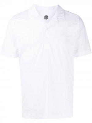 Рубашка поло Hydrogen. Цвет: белый