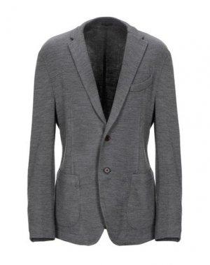 Пиджак ALTEA. Цвет: свинцово-серый
