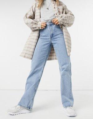 Голубые прямые джинсы Echo-Голубой Dr Denim