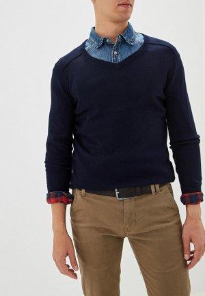 Пуловер Gaudi. Цвет: синий