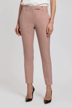 Укороченные брюки зауженного кроя VASSA&Co. Цвет: розовый