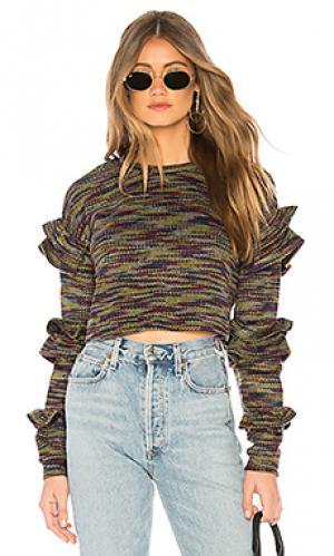 Пуловер bergan Tularosa. Цвет: фиолетовый