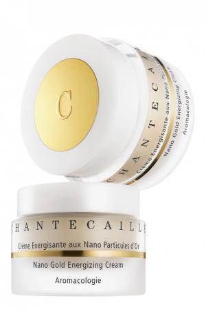 Антивозрастной энергетический крем для лица с частицами золота Nano Gold Energizing Face Cream Chantecaille. Цвет: бесцветный