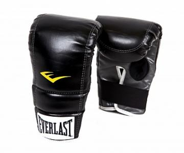 Перчатки снарядные PU, размер S-M Everlast. Цвет: черный