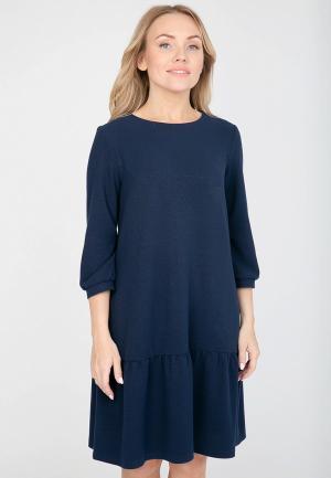 Платье Akimbo. Цвет: синий