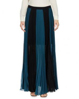 Длинная юбка ANNARITA N. Цвет: цвет морской волны