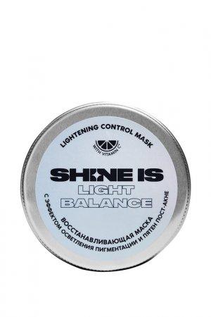 Восстанавливающая маска Shine Is. Цвет: бежевый