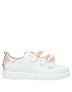 Низкие кеды и кроссовки 181. Цвет: белый