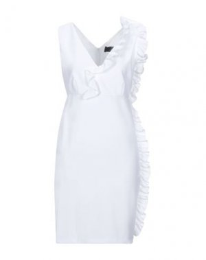 Короткое платье KI6? WHO ARE YOU?. Цвет: белый