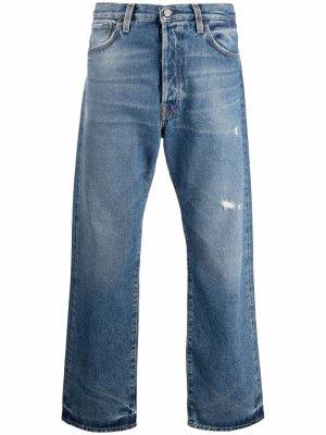 Прямые джинсы Acne Studios. Цвет: синий