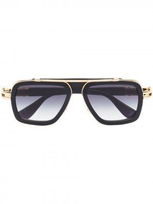 Солнцезащитные очки-авиаторы LXN-EVO Dita Eyewear. Цвет: серый
