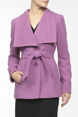 Пальто LANITA. Цвет: фиолетовый