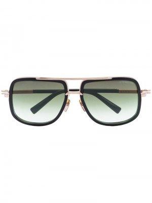 Солнцезащитные очки Tone Mach One Dita Eyewear. Цвет: черный