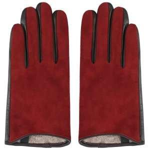 Перчатки Ekonika EN33358-bordo-chocolate-21Z. Цвет: бордовый/коричневый