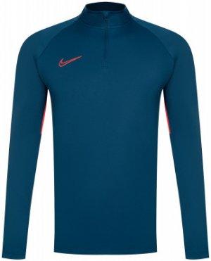 Джемпер футбольный мужской Dri-FIT Academy, размер 44-46 Nike. Цвет: синий