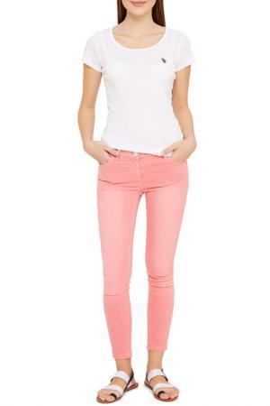 Джинсы U.S. Polo Assn.. Цвет: pb0012 розовый