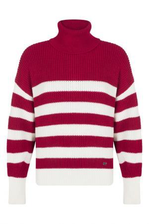 Пуловер FELIX HARDY. Цвет: burgundy, white