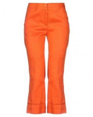 Брюки-капри L' AUTRE CHOSE. Цвет: оранжевый