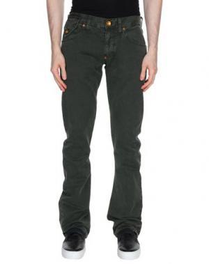 Повседневные брюки ANDREW MACKENZIE. Цвет: темно-зеленый