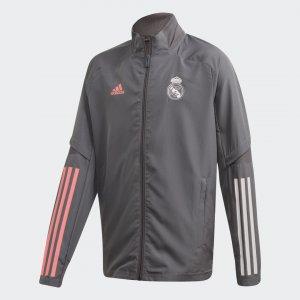 Парадная куртка Реал Мадрид Performance adidas. Цвет: серый