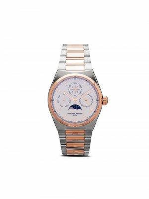 Наручные часы Highlife Perpetual Calendar 41 мм Frédérique Constant. Цвет: серебристый