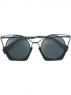 Cat eye sunglasses Yohji Yamamoto. Цвет: черный