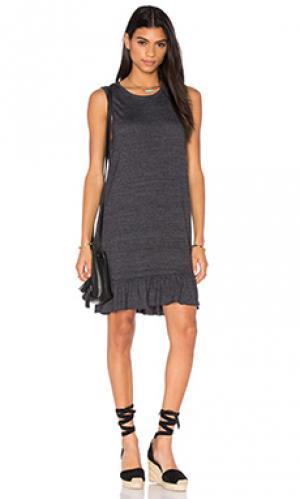 Мини платье serena Nation LTD. Цвет: серый