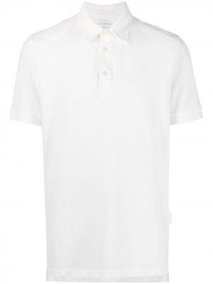 Рубашка поло из ткани пике Ballantyne. Цвет: белый