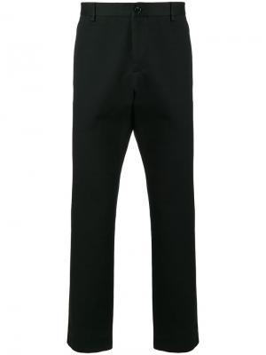 Классические брюки с вышитым логотипом Gucci