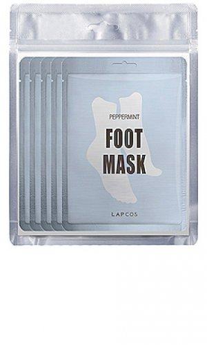 Маска для ног peppermint cooling LAPCOS. Цвет: beauty: na