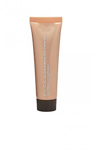 Флюид-хайлайтер shimmering skin BECCA. Цвет: металлический золотой