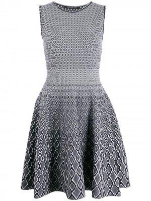 Расклешенное трикотажное платье Antonino Valenti