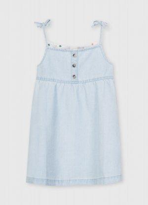 Джинсовое платье O`Stin. Цвет: голубой