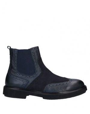 Полусапоги и высокие ботинки BALDININI. Цвет: темно-синий