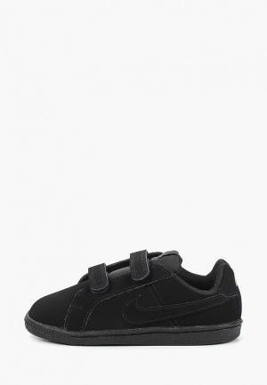 Кеды Nike BOYS COURT ROYALE (TD) TODDLER SHOE. Цвет: черный
