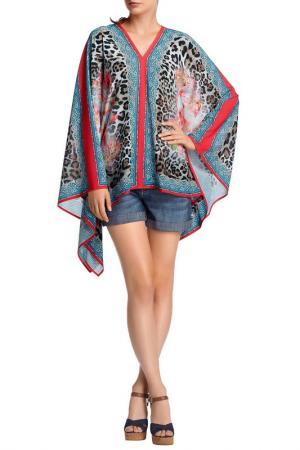 Блузка-туника Apart. Цвет: многоцветный