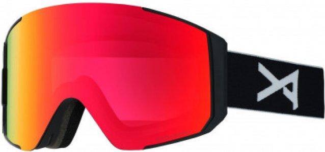 Маска сноубордическая CLUTCH Anon. Цвет: красный