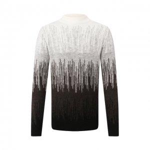 Хлопковый свитер Drykorn. Цвет: серый