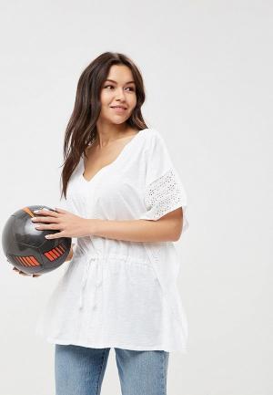 Блуза Top Secret. Цвет: белый